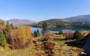 Vernon's beautiful fall colors and a view from 205 Kalamalka Lake Road.