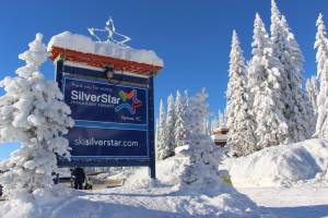 Silver Star Mountain Resort - Welcome Sign