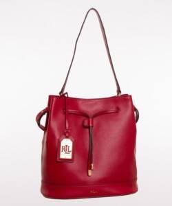 Silent Auction: Ralph Lauren, Drawstring Shoulder Bag.